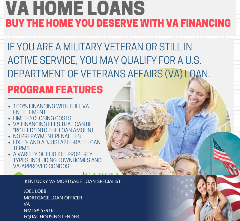 Kentucky VA Home Loan Credit Issues
