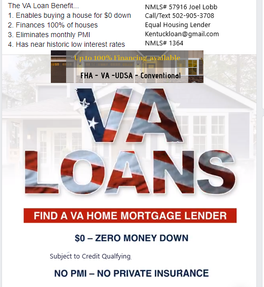 Kentucky VA Mortgage Lender Guidelines for 2019
